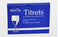 BOX OF 10 TITRET SULFITE TITRATION REFILLS