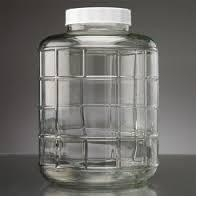 NEW 3 LITER GLASS JUG LRG OPEN