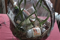 Candle Light Gift Basket