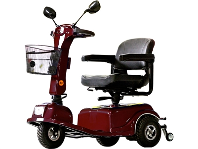 INACTIVE Boomerbuggy III 400W, 24V ADP, Approved (Burgundy) - without batteries