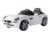 BMW Z8 Electric Kids Ride On - White
