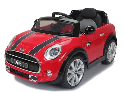 Mini Cooper 6V Rechargeable Battery (Red)