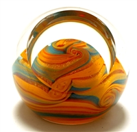 The Glass Eye Jupiter Paperweight