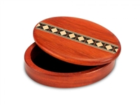Mike Fisher Spin Diamond Inlay Puzzle Box