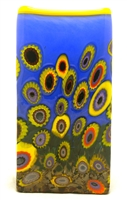 Michael Maddy and Rina Fehrensen Rectangular Sunflower Vase