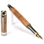 Elite Fountain Pen - Hawaiian Koa