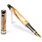 Elite Fountain Pen - Olivewood