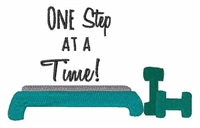 "Koozie-""One Step At A Time"""