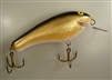 No. 00 Gold Black Back Muskie Lure