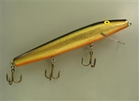 No. 675 Gold Black Back Muskie Lure