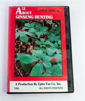 John Epler, Jr. - All About Ginseng Hunting DVD