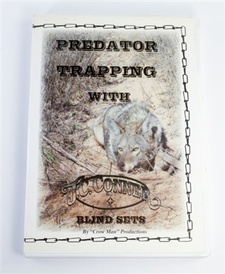 J.C Conner - Predator Trapping with Blind Sets DVD