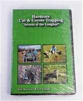 Matt Jones & Len Williams - Hard Core Cat & Coyote Trapping - Secrets of the Longline DVD