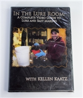 Kellen Kaatz - In the Lure Room: A Complete Guide to Lure & Bait Making DVD