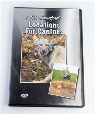 J.W. Crawford - Locations for Canines DVD