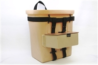 Fiber Tuff Pack Basket With Lure Pouch