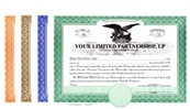 Printed Liberty Legal Eagle Certificates