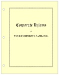 Corporation Minutes & Bylaws Hardcopy