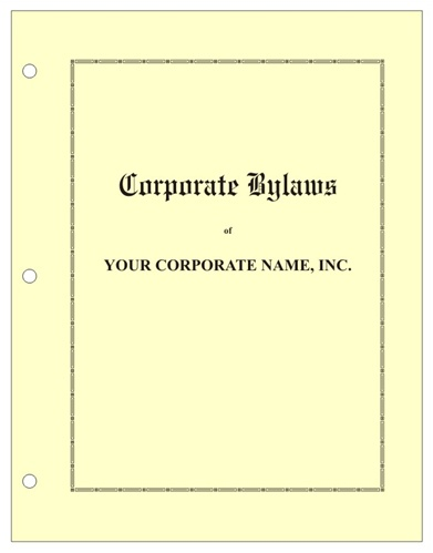 corporation minutes