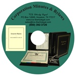 Corporation Minutes & Bylaws CD