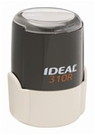 "Ideal 310R Self Inking Stamp 1-1/4"" Diameter"