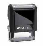 "Ideal 4911 Self Inking Stamp 9/16"" x 1-1/2"" - Formally Ideal 50"