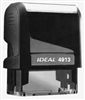 "Ideal 4913 Self Inking Stamp 7/8"" x 2-3/8"" - Formally Ideal 100"
