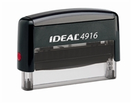 "Ideal 4916 Self Inking Stamp 3/8"" x 2-3/4"" - Formally Ideal 5770"