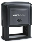 "Ideal 4926 Self Inking Stamp 1/2"" x 3"" - Formally Ideal 300"