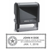 "Texas Notary Self Inking Stamp on Ideal 4914, 1"" x 2-1/2"" - Formally Ideal 200"
