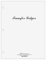 Stock Transfer Ledger