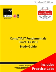 CompTIA IT Fundamentals (Exam FC0-U51) Student Edition eBook + Online Practice Labs