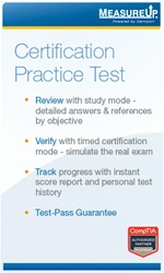 MeasureUp CompTIA Certification Practice Exam: 30 Day - CompTIA Authorized