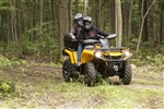 Can Am Outlander Gen 2 Rear Box w/seat - Lock and Go System