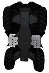 YAMAHA GRIZZLY  350/450 IRS 2-PIECE FLOOR BOARD SKID PLATE SET