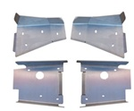 Ricochet 4 Piece Front & Rear A-Arm Guard Set RZR 2008-2010 (not s model)