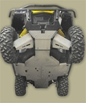 CAN-AM COMMANDER COMPLETE ALUMINUM SKID PLATE SET