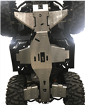 6-PIECE COMPLETE ALUMINUM SKID PLATE SET, POLARIS SPORTSMAN TRAIL 570