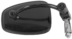 POLARIS ATV HANDLEBAR END MOUNT MIRROR - BLACK