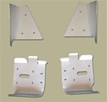 Ricochet  Front & Rear A-Arm Guards Sportsman Big Boss 6x6