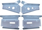 Ricochet 4 Piece Front & Rear A-Arm Guard Set RZRS 2009-2010