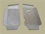 Floor Board Skid Plates Bruteforce 650i/750 All Years