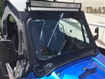 Polaris RZR 900/1000 glass windshield with wiper
