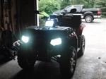 Polaris Sportsman XP HID Factory Replacement Light Kit for 550/850