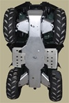 2011 Grizzly 450 Complete kit with Floor Board Plates