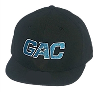 Richardson Fitted Hat with GAC Logo - Black