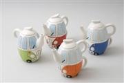 Camper Van Tea Pot - 4 Asst