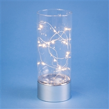 Glass Tube With 15 LED Lights