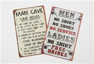 Men's Wall Sign