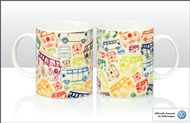 Campervan Bone China Mug